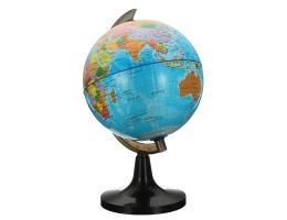 14 cm drejlig Globus af Jorden