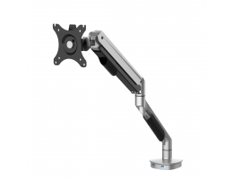 LOCTEK Single / Dual Monitor Bracket Arms Monitor Mount Desktop Computer Stand 360 grader roterende til 17- 32 tommer Computerskærm