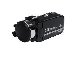 UHD 2.7K 1080P 30MP 16X Zoom 3 Tommer Touch Screen LCD Digital WiFi IR Night Vision Video DV kamera med Fjernbetjening
