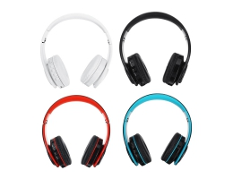 Bluetooth 5.0 Wireless Headset Headphone Support TF Card FM Radio For Tablet