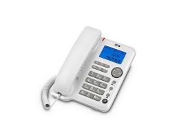 Fastnettelefon SPC 3608B LCD Hvid